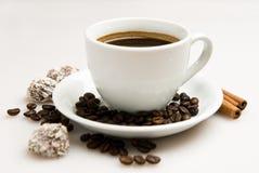 豆咖啡杯块菌 库存照片
