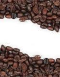 豆咖啡构造白色 免版税库存图片