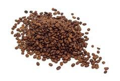豆咖啡查出的白色 免版税库存照片