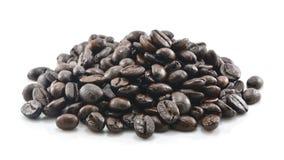 豆咖啡查出的白色 免版税库存图片