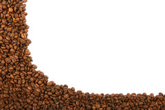 豆咖啡框架 库存图片