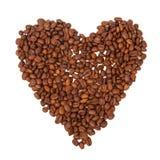 豆咖啡溢出的表单重点 库存照片