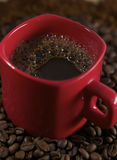 豆咖啡警察 库存图片