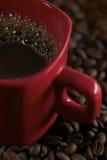 豆咖啡警察 免版税库存图片