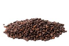 豆咖啡重点做形状 库存照片