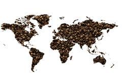 豆咖啡重点做 图库摄影