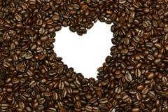 豆咖啡重点 免版税库存图片