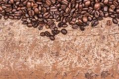 豆咖啡食物框架构成系列 免版税图库摄影