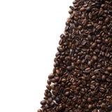 豆咖啡食物框架构成系列 库存照片