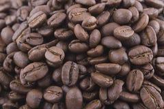 豆大咖啡堆 免版税图库摄影
