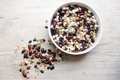 豆干式混合豌豆 库存照片
