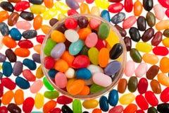 豆形软糖 库存图片
