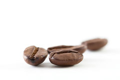豆接近的咖啡 库存照片