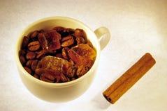 豆桂香咖啡水晶糖 库存图片