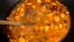 豆汤用香肠 股票视频