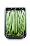 豆法国绿色 库存图片
