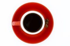 豆浓咖啡 免版税库存图片