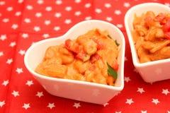 豆炖煮的食物 图库摄影