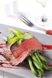 豆烤肋条肉字符串 图库摄影
