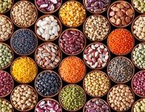 豆类无缝的纹理 库存图片