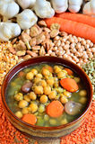 豆类汤 图库摄影