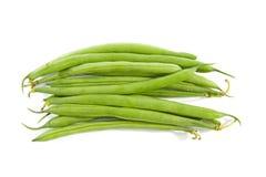 豆绿色长原始 免版税库存图片