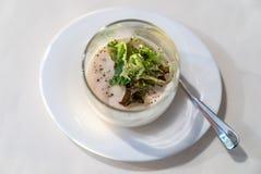 豆腐块菌沙拉 库存图片