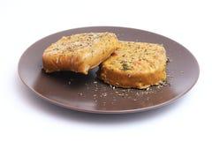 豆腐汉堡 免版税库存照片