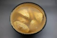 豆腐汤 库存照片