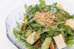 豆腐沙拉 免版税库存图片