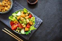 豆腐沙拉 库存图片