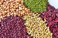 豆类对健康是有利的。 免版税图库摄影
