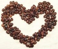 豆caffee重点 免版税库存图片