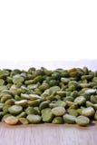 豌豆准备的汤蔬菜 免版税图库摄影