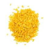 豌豆堆黄色 免版税库存图片