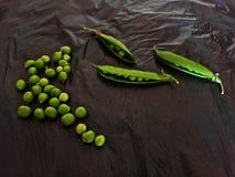 豌豆的一个数量 免版税库存照片