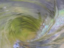象一个方式的美好的水漩涡对未知数 免版税图库摄影