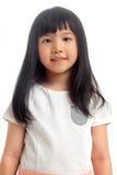 画象亚洲孩子微笑 免版税库存图片