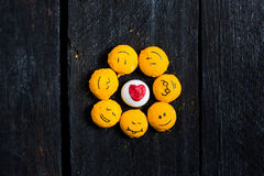 象太阳的黄色微笑 图库摄影