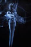 象女人的图象由发烟制成 库存照片