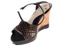象女人的鞋子 免版税库存照片