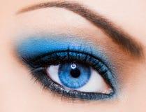 象女人美丽的眼睛 免版税库存照片