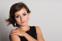 画象女性时装模特儿 免版税库存图片