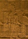 象形文字的horus 图库摄影