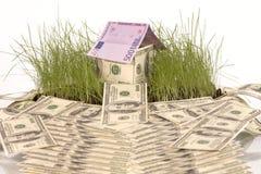 象征性的房子 免版税图库摄影