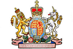 象征查出的王国团结的白色 库存例证
