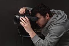 画象摄影师 库存图片