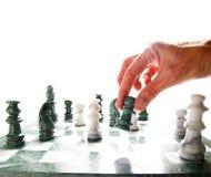象棋移动 库存图片