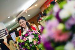 画象泰国女孩 免版税库存照片