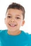 画象男孩五岁 图库摄影